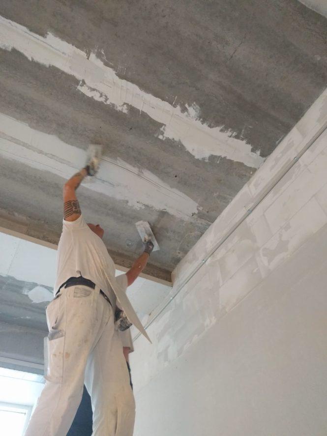 20190116 Vanille-ijs op het plafond