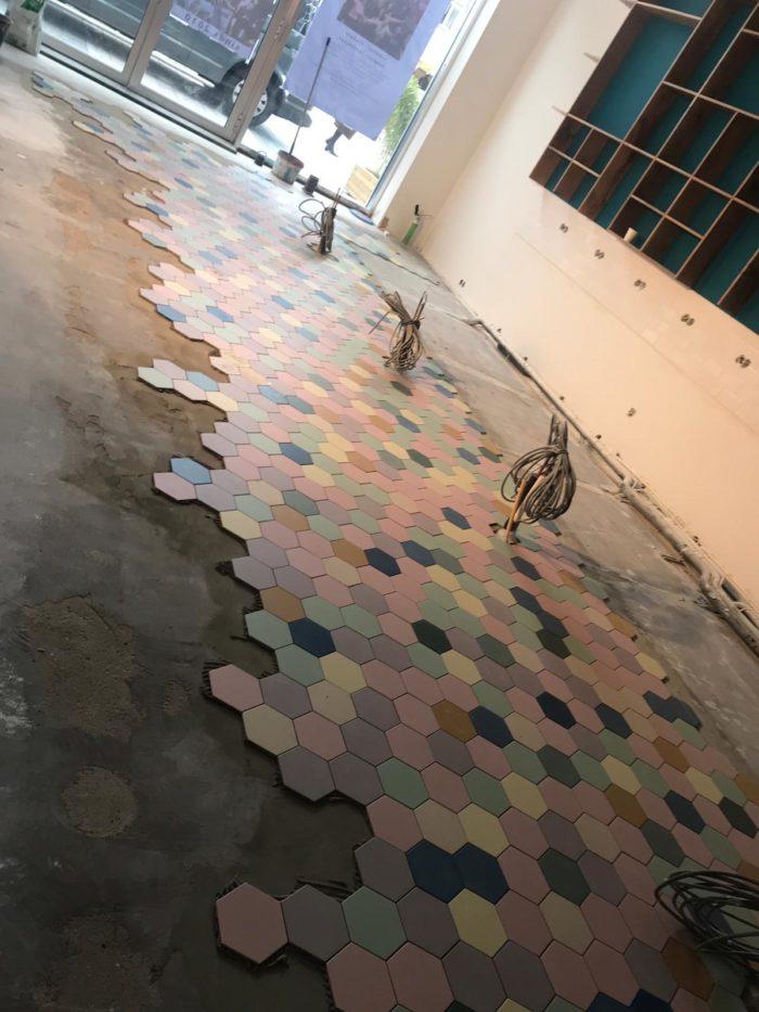 20190128 Verbouwing - Vloer